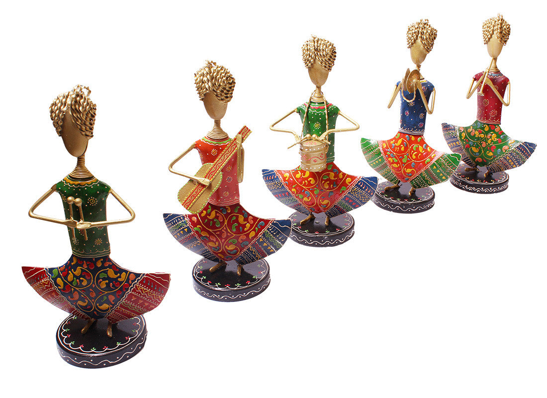 Lady Musician Figurines