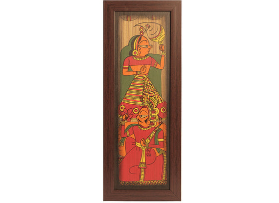 rajasthani royal couple phad painting