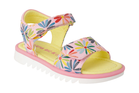 Poppy Paint Sandal