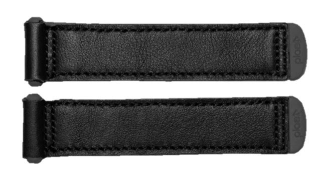 Plae Tabs - Black Leather 4 Pack