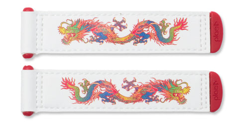 Plae Tabs - Dragons Fiery Red