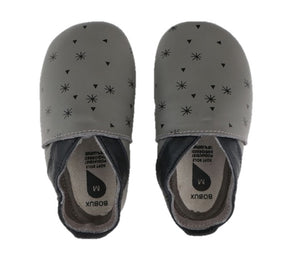 Soft Sole Grey Snow Flakes