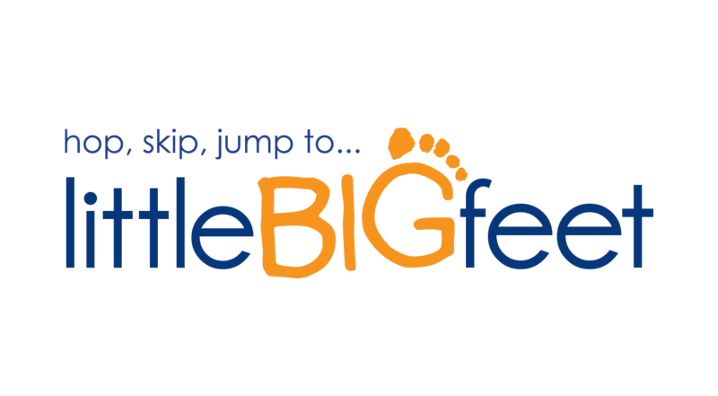 Little Big Feet logo