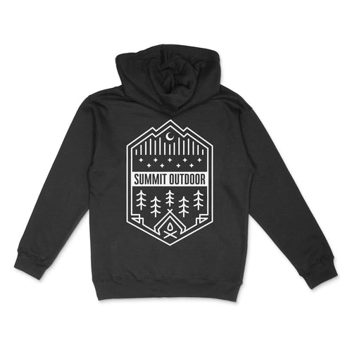 Black Summit Outdoor Alpine Hoodie - Back View