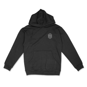 Black Summit Outdoor Alpine Hoodie - Front View