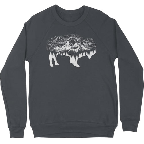 Mountain Bison Sweatshirt