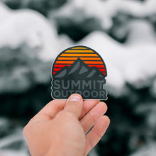 Load image into Gallery viewer, Summit Dark Sunrise Sticker - Summit Outdoor Co.