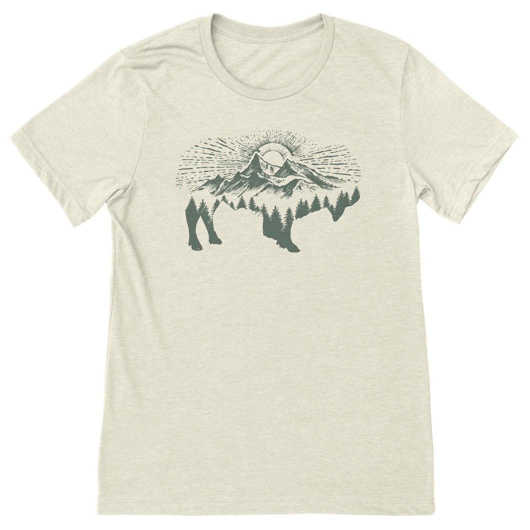 Mountain Bison Tee
