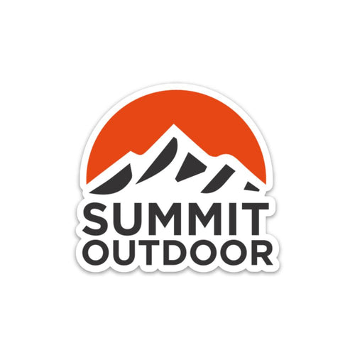 Summit Half Circle Sticker - Summit Outdoor Co.