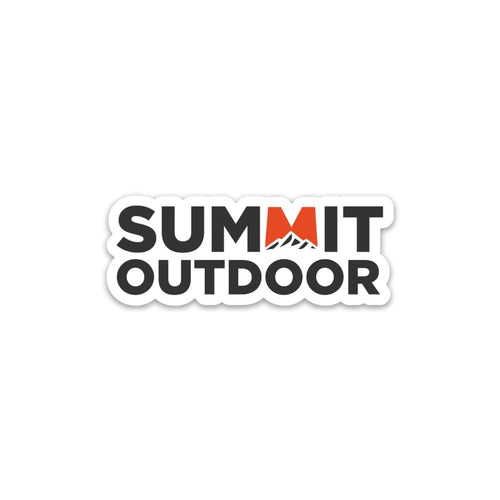 Summit Outdoor Logo Sticker - Summit Outdoor Co.