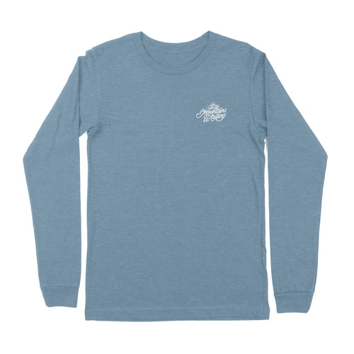 The Mountains Are Waiting Long Sleeve Tee