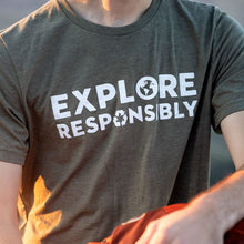 Load image into Gallery viewer, Explore Responsibly Tee