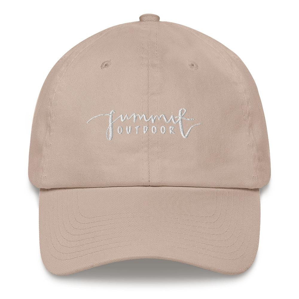Summit Outdoor Cursive Dad Hat - Summit Outdoor Co.