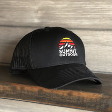 Load image into Gallery viewer, Summit Sunrise Trucker Hat - Summit Outdoor Co.