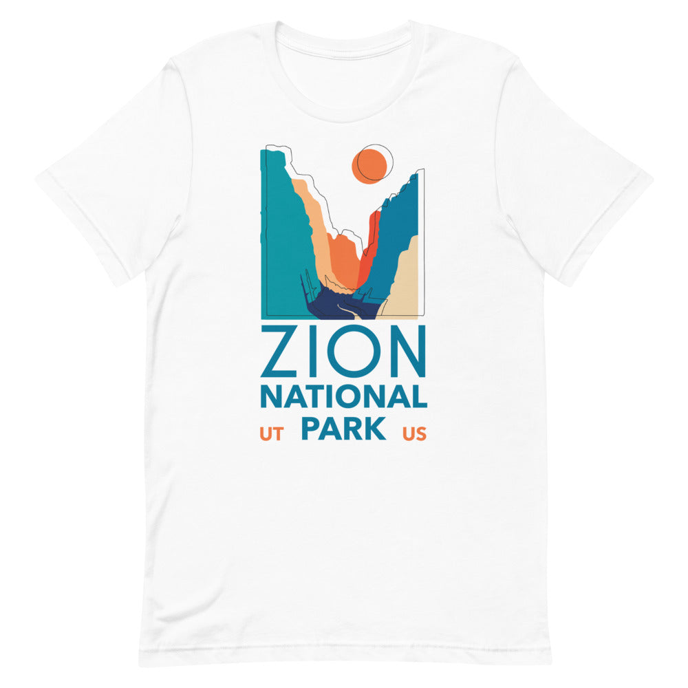 Zion National Park Tee