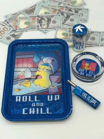 Roll Up & Chill Custom Tray Set