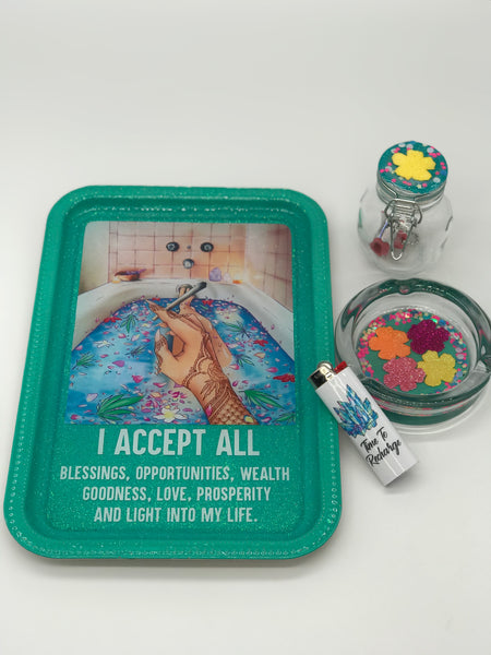 Spiritual Blessings Tray Set