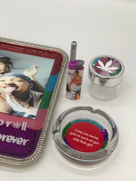 Roll With You Forever Rolling Tray Set