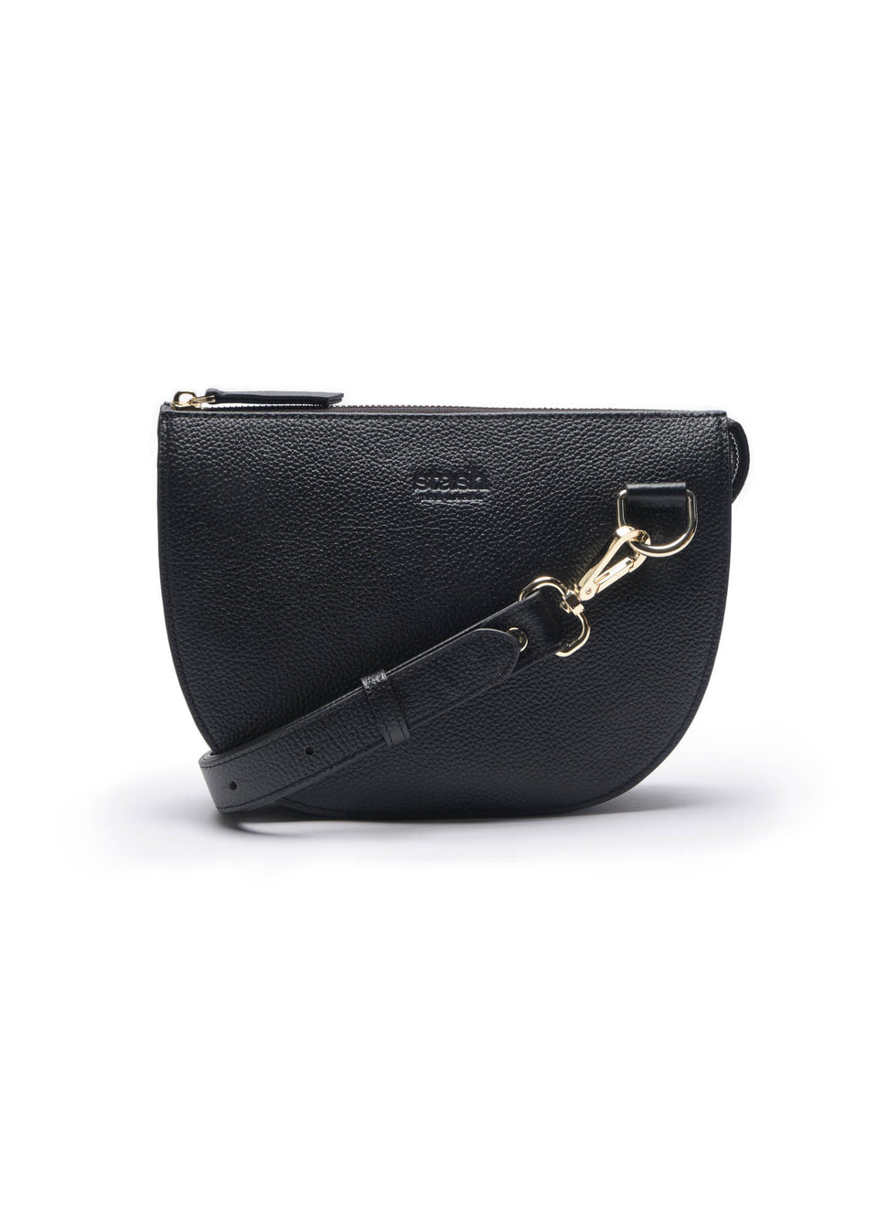 Half-moon Crossbody Blind embossed logo)