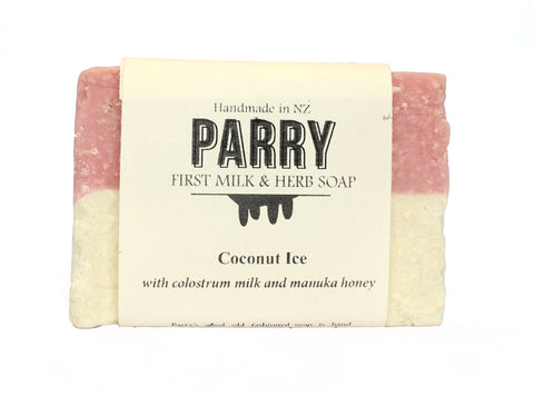 Coconut Ice - Sensitive skin friendly, Parry Soap, New Zealand