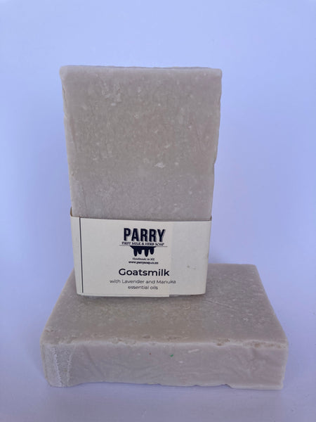 Goats Milk Soap with Lavender & Manuka oil