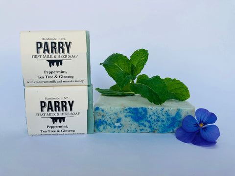 Peppermint, Tea tree and Ginseng Soap