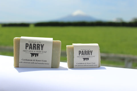 Cardamom and Kauri Gum Soap