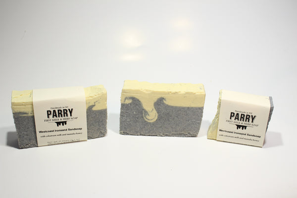Sandsoap - Westcoast Ironsand Soap