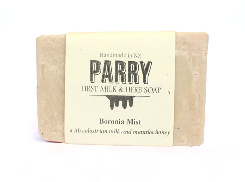 Boronia Mist - Sensitive skin friendly, Parry Soap, New Zealand