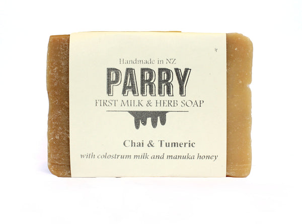 Chai & Tumeric - Sensitive skin friendly, Parry Soap, New Zealand