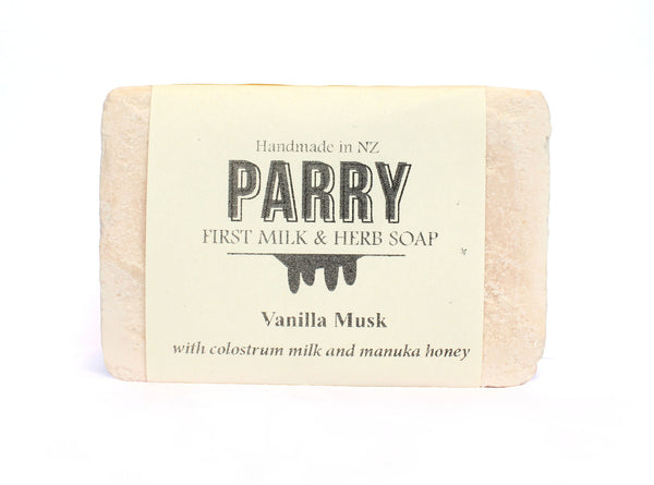 Vanilla Musk - Parry Soap, New Zealand