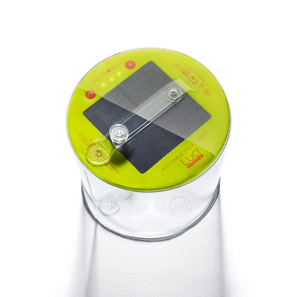 Inflatable solar powered camping light, waterproof