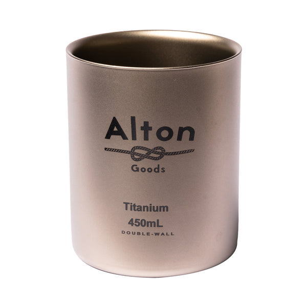 Titanium Double-Wall Mug 450mL