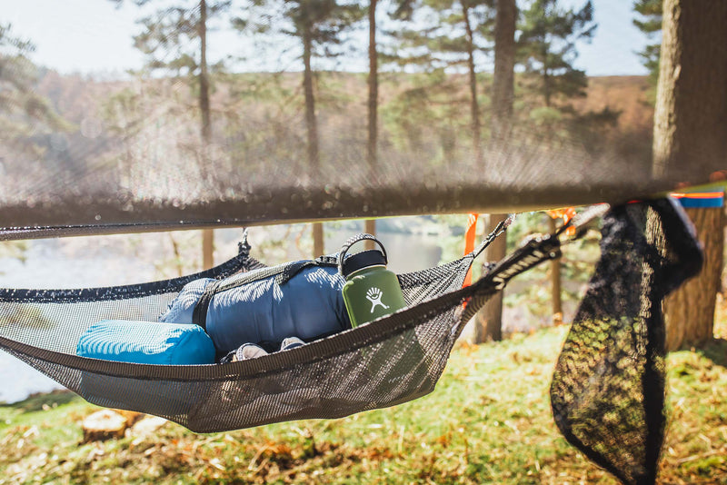 mesh 2 person hammock, storage