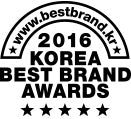 2016 Korea Best Brand Awards 韓國頂尖品牌