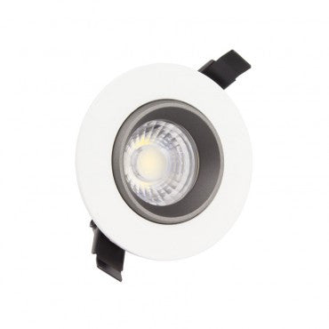 Faretto da incasso LED Orientabile 360° 7W