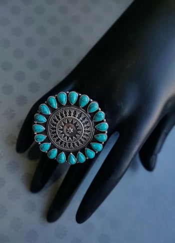 Stone Statement Ring