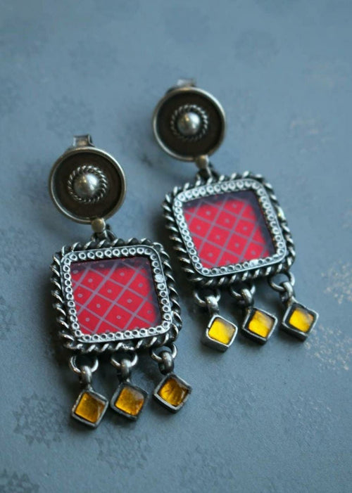 Satrangi Earrings - Pre Order