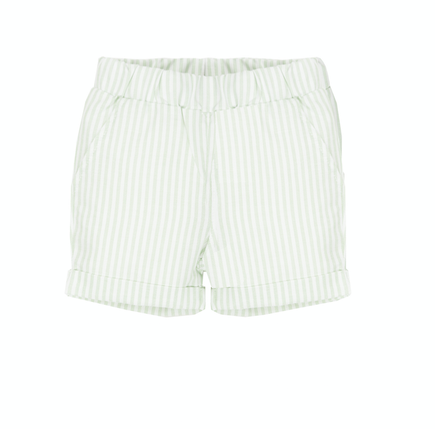 EMC Baby Green Stripe Top & Short Set