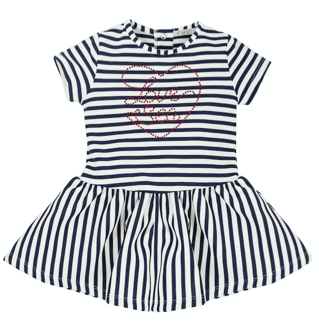 EMC Fish Stripe Sea Dress