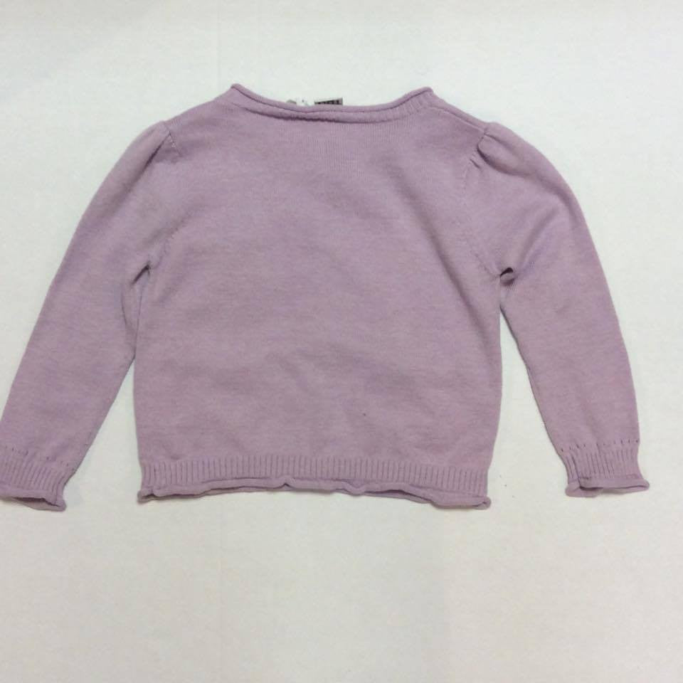 iDO Baby Girls Sample Purple Cardigan - Scarlett's Bowtique