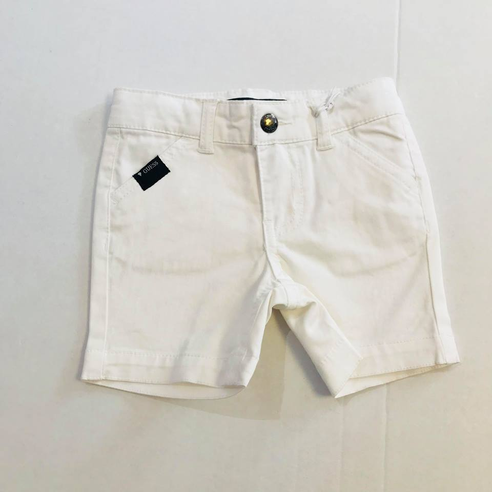 Guess Summer Baby Boys White Shorts - Scarlett's Bowtique