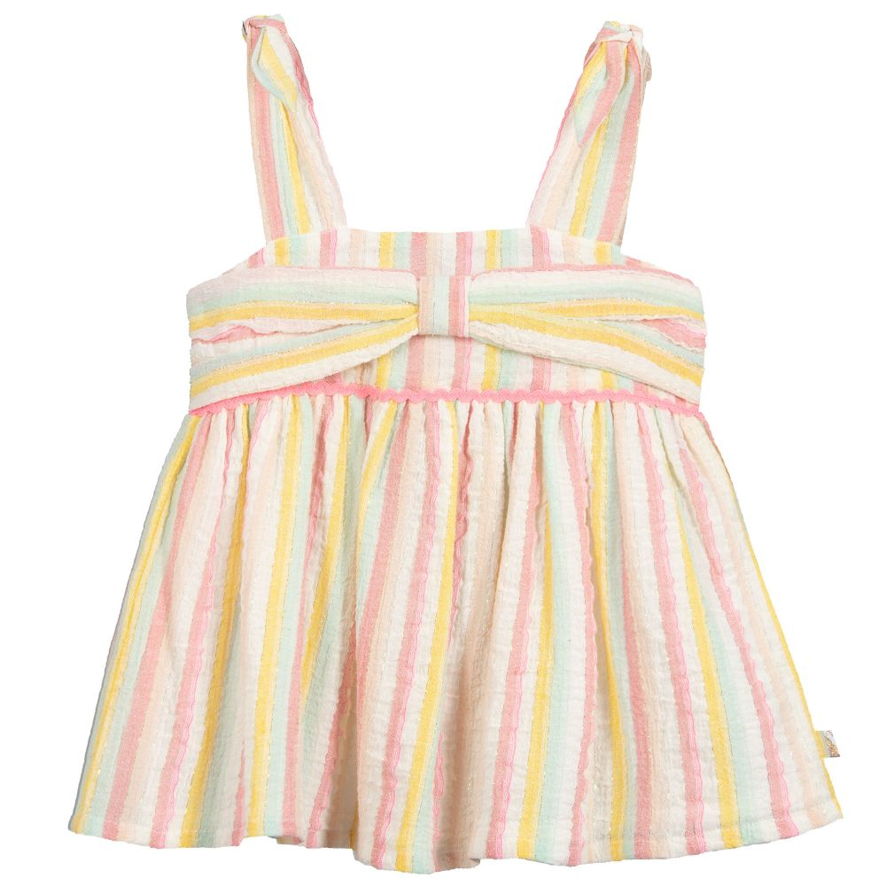 Billieblush Summer Girls Stripe Top - Scarlett's Bowtique