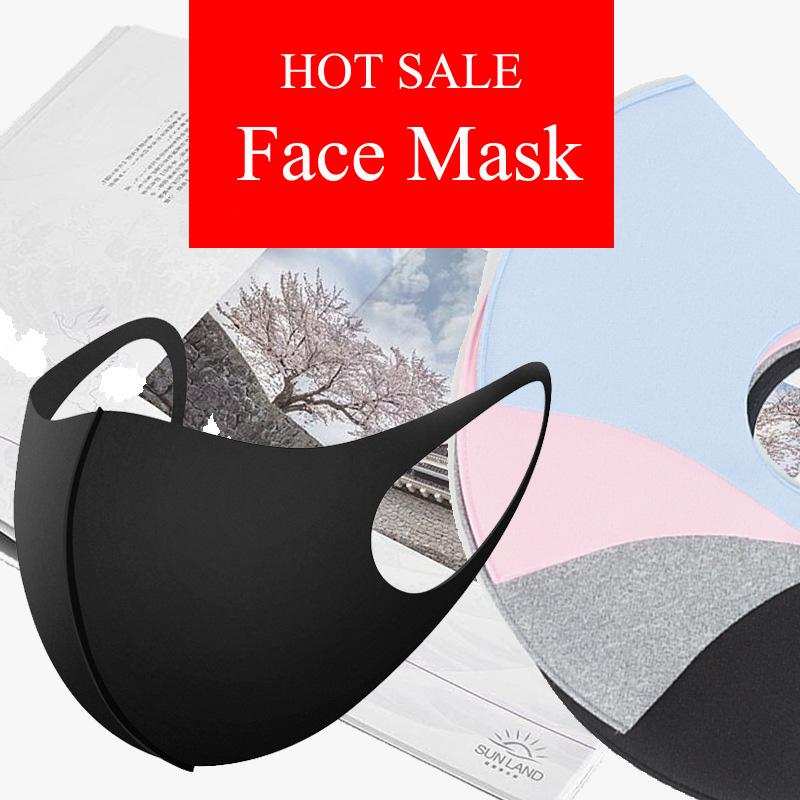 Face Mask Adult  Anti-Pollution Anti-Haze x 3 PACK BABY BLUE