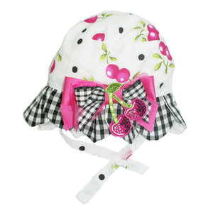 Little Darlings Cherry Cherry Holiday Hat - Scarlett's Bowtique