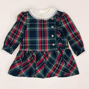 Mayoral Winter Toddler Tartan Dress & Blouse Set - Scarlett's Bowtique