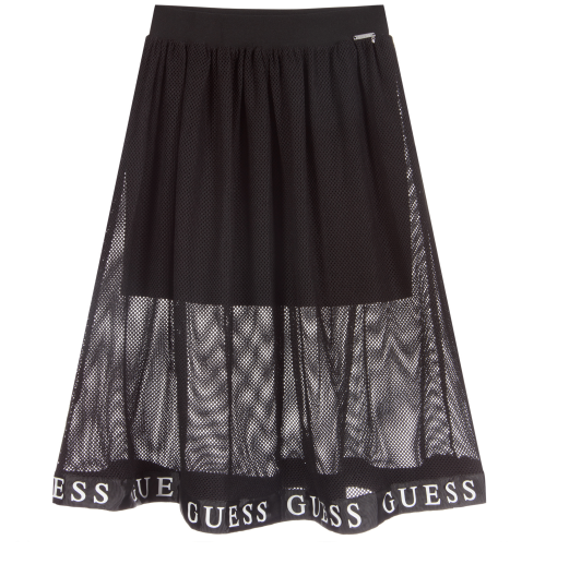 Black Net Skirt