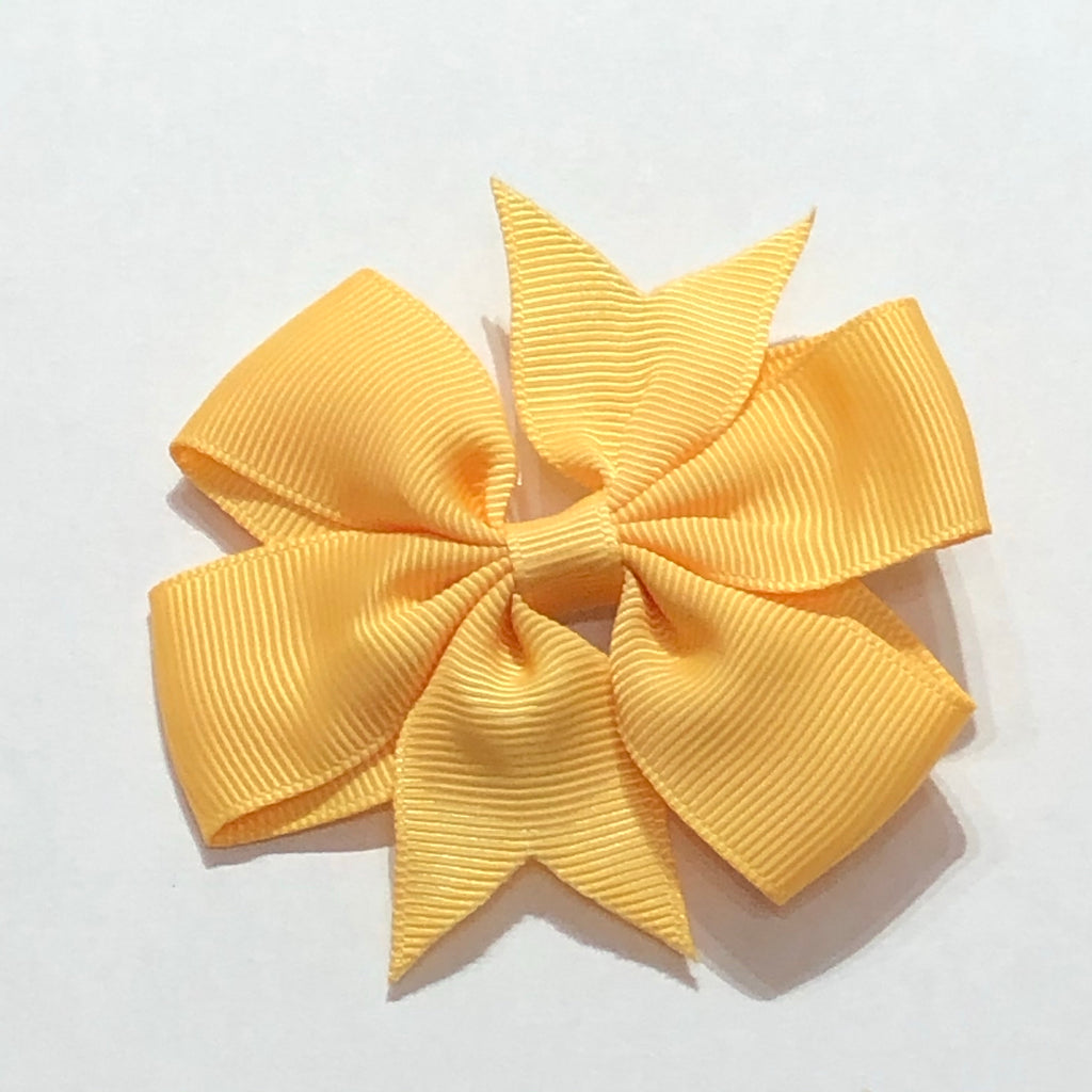 "Scarlett's Bows Golden Yellow Grosgrain 3"" Bow"