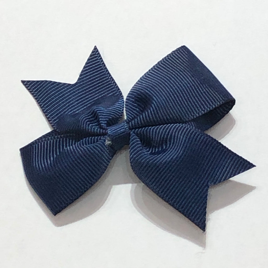 "Scarlett's Bows Navy Blue Grosgrain 2"" Bow"