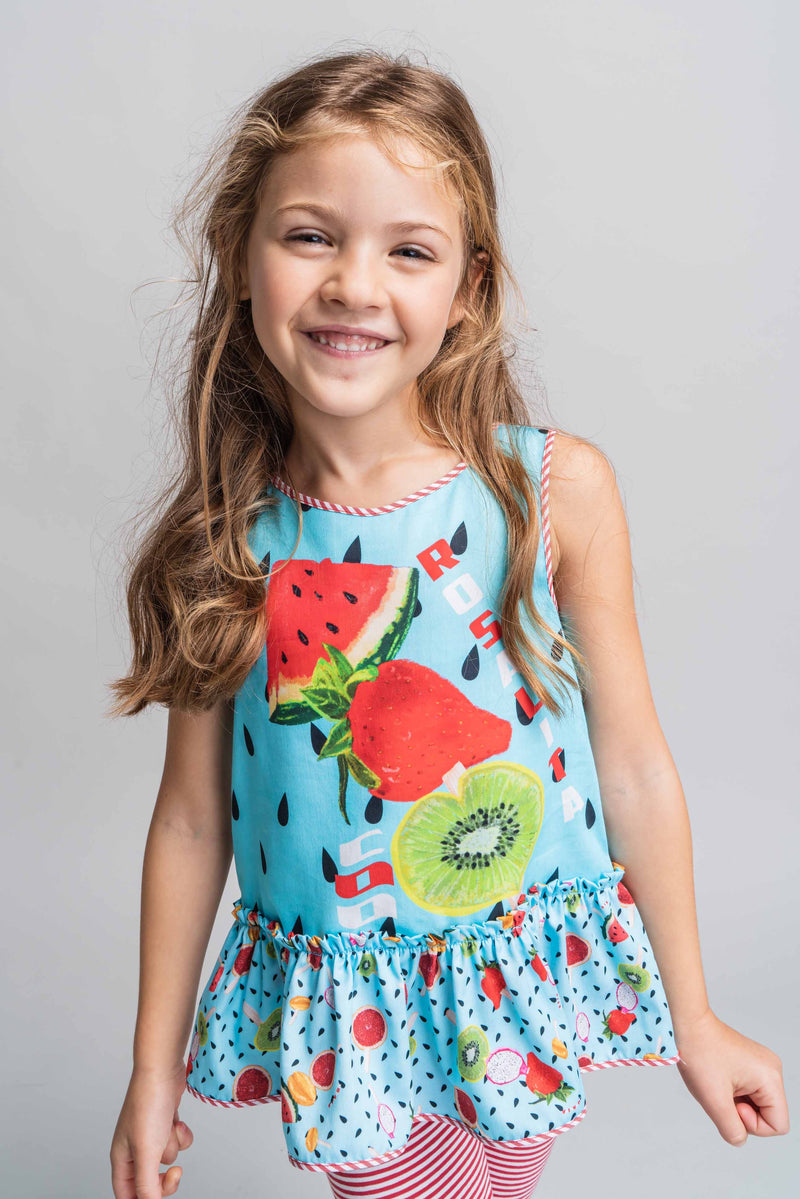 Rosalita Hay Fruit Top & Leggings Set